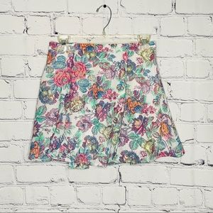 NWT Luca Courture Floral skirt Sz. Small